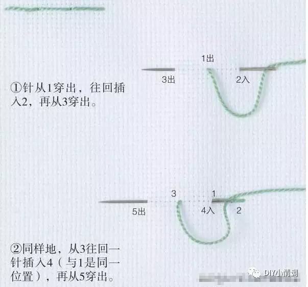 10种常见刺绣针法,绣花针法 图案教程