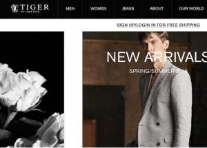 瑞典品牌Tiger of Sweden 加速国际业务扩张