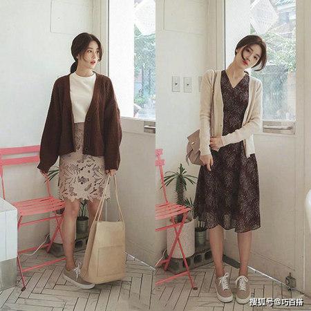 春季必备的毛衣怎么穿才好看 超好学的抖音款女装搭配(图8)