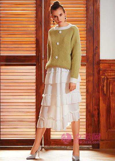 Ei.衣艾温暖时髦的春季毛衣来了解一下 提升你的造型感 (图1)