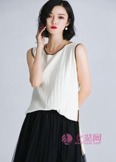 依兰慕语简约清新的夏日穿搭 实用耐看又少女(图3)