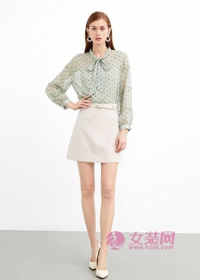 爱弗瑞小个子女生的时尚裙装 显高显瘦显腿长(图3)