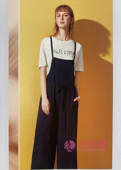 百图夏季时尚干练的穿搭 短袖+长裤 真的很不错(图1)