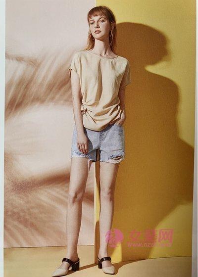 百图夏季时尚干练的穿搭 短袖+长裤 真的很不错(图2)