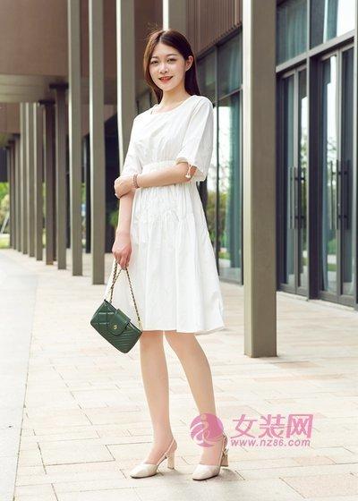 汀丁可夏季连衣裙可不能少了 简约舒适又高级(图1)