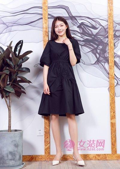 汀丁可夏季连衣裙可不能少了 简约舒适又高级(图3)
